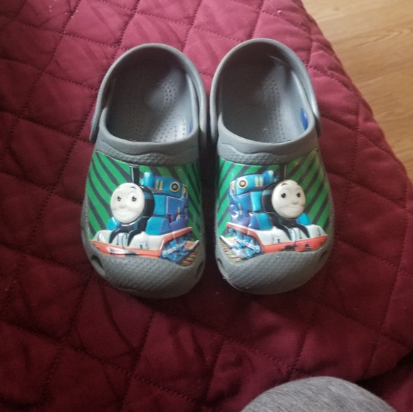 Toddler thomas the train summer shoes